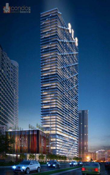 Building in Miami, Brickell, SLS Hotel & Residences