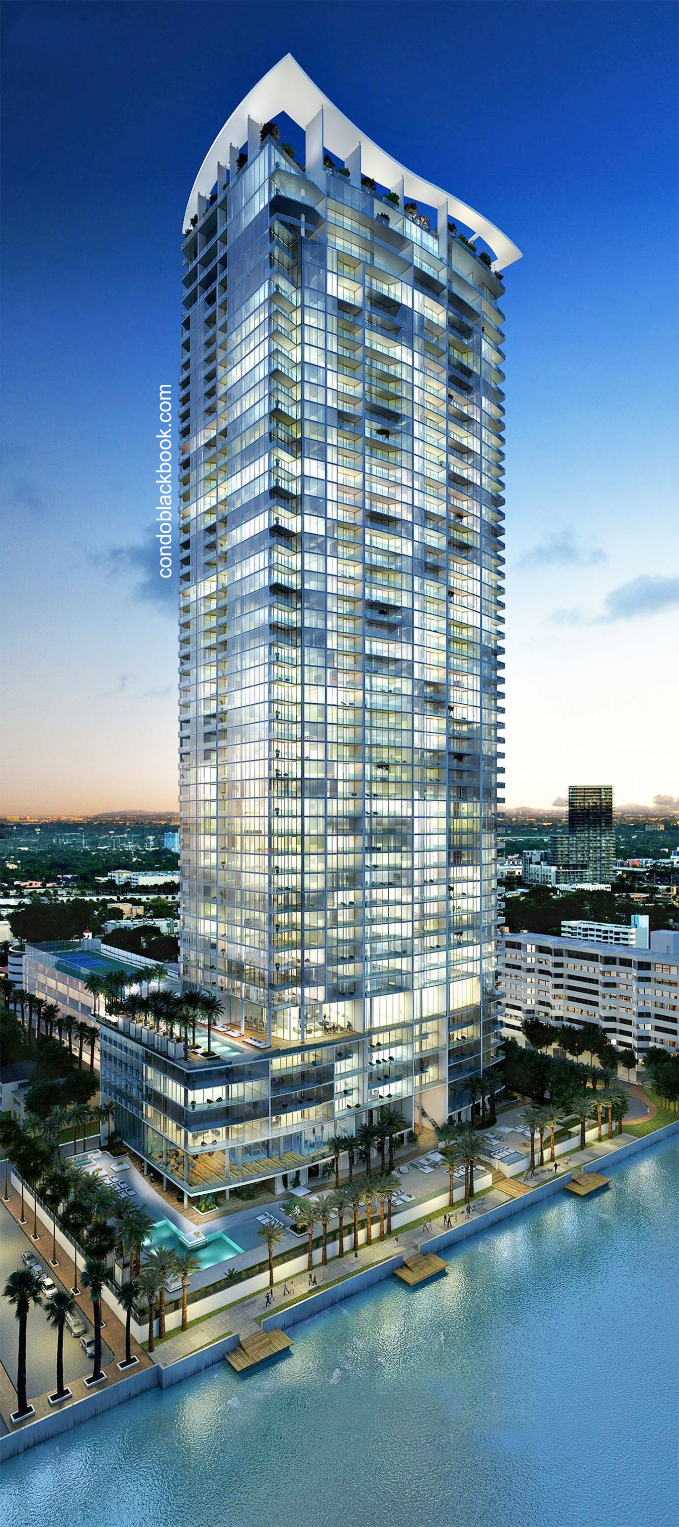 Building in Miami, Downtown Miami, Biscayne Beach