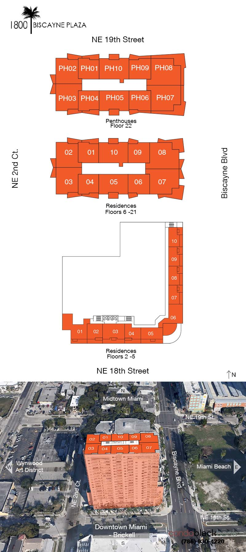 1800 Biscayne Plaza Floorplan