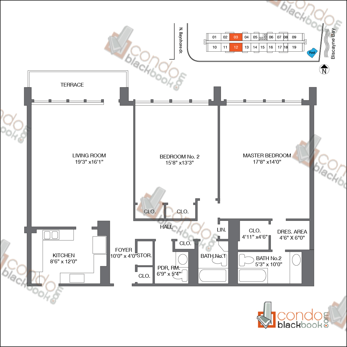 Marina Blue Floor Plans: Condo Floor Plans Miami