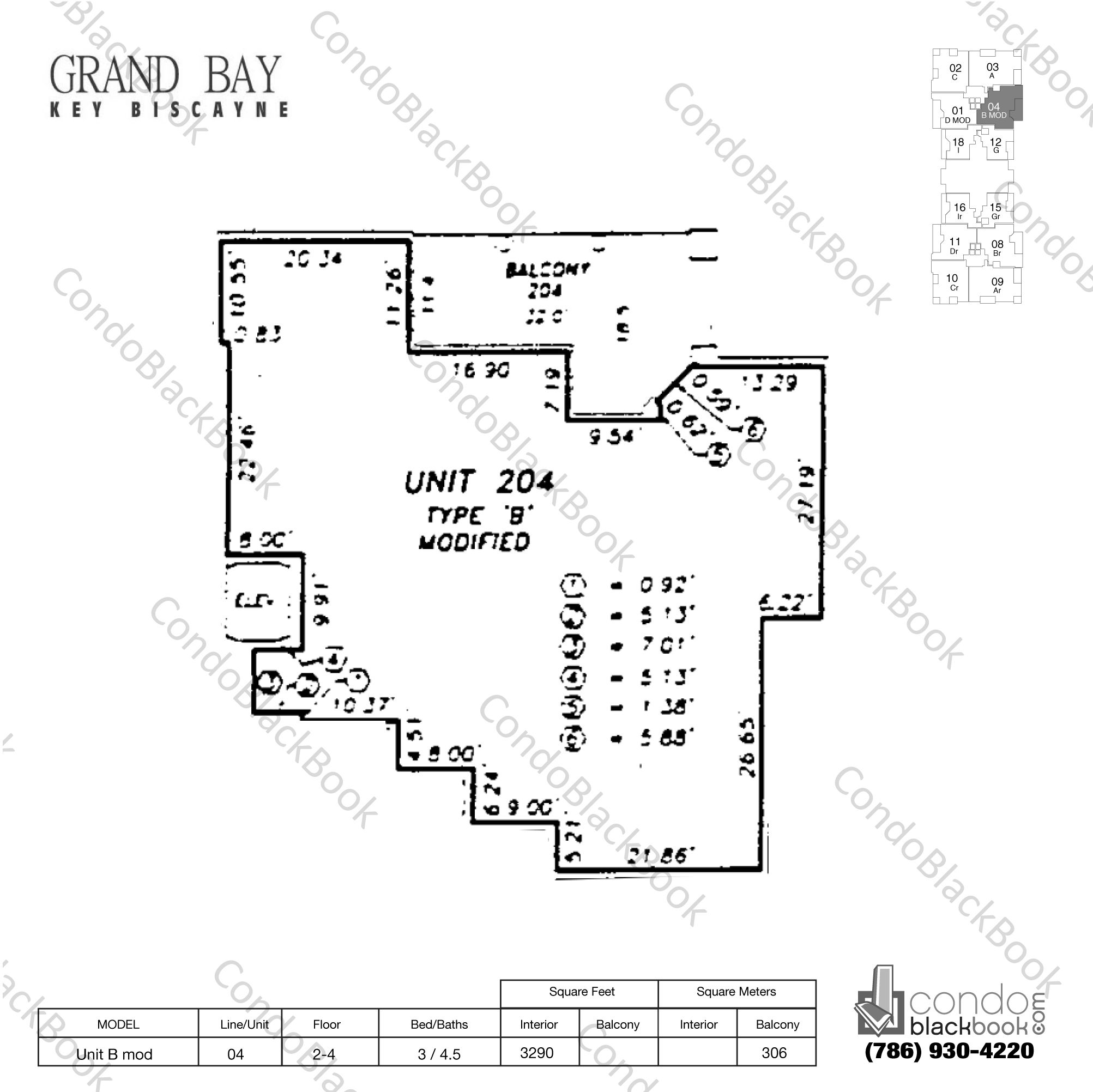 Longboat Key Apartments: Grand Bay Residences Unit #304 Condo For Rent In Key
