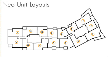 Neo Lofts Floor Plans