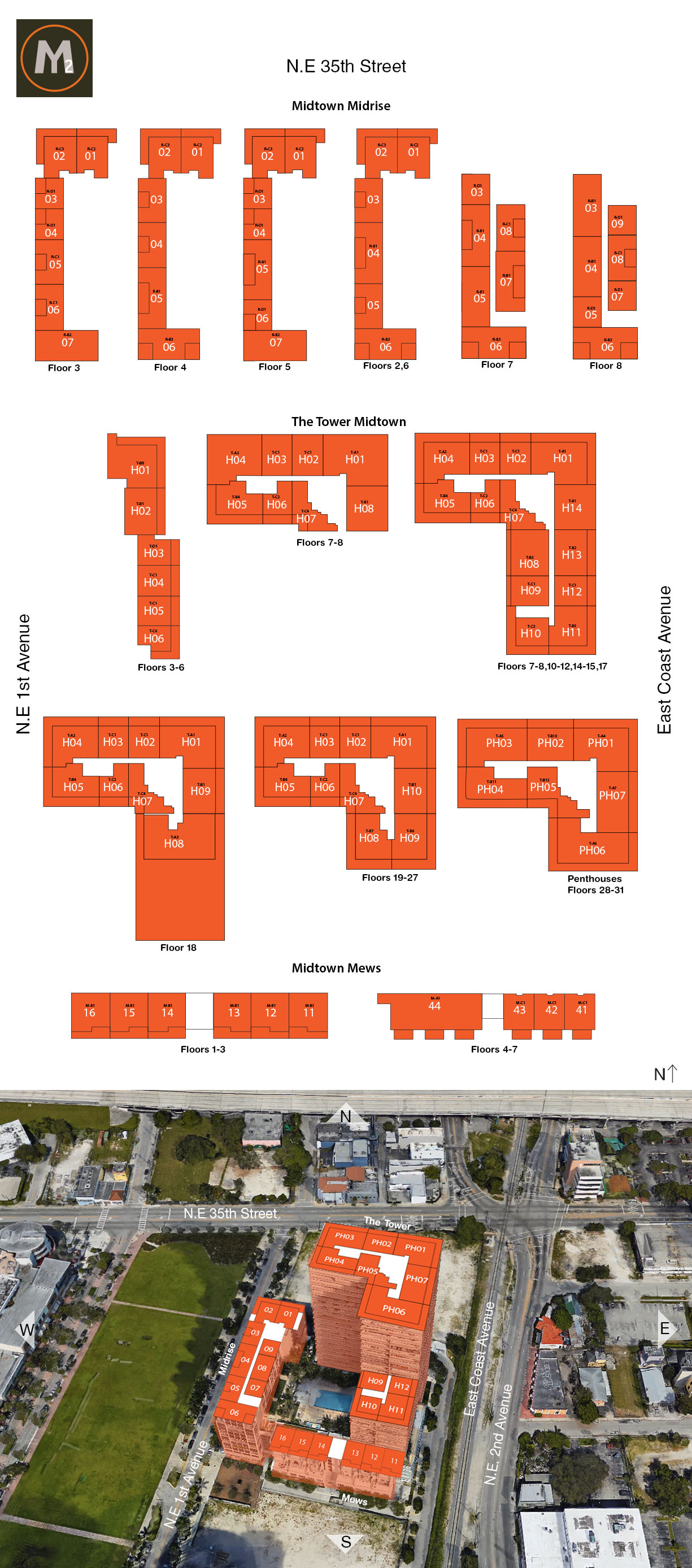 Midtown 2 Floorplan