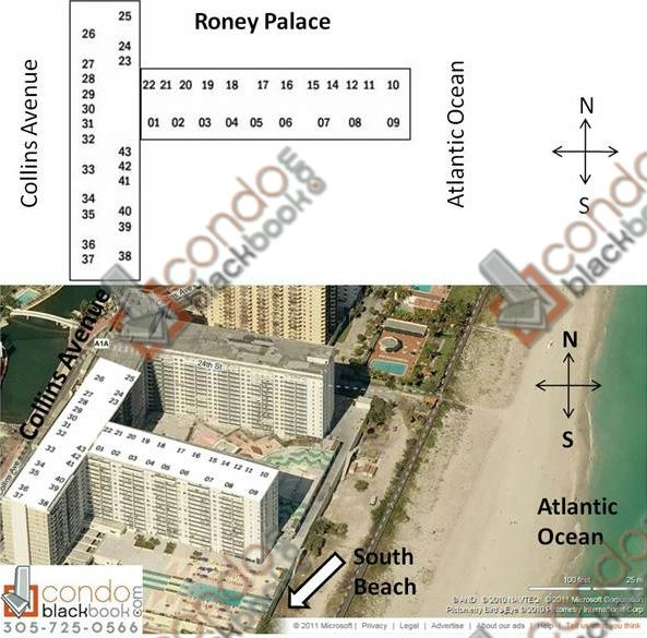 Roney Palace Floorplan