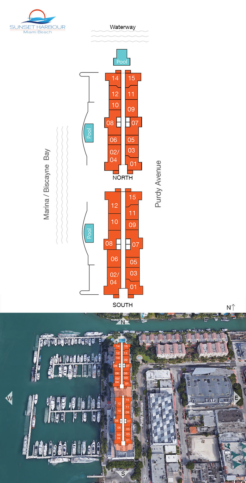 Sunset Harbour Floor Plans