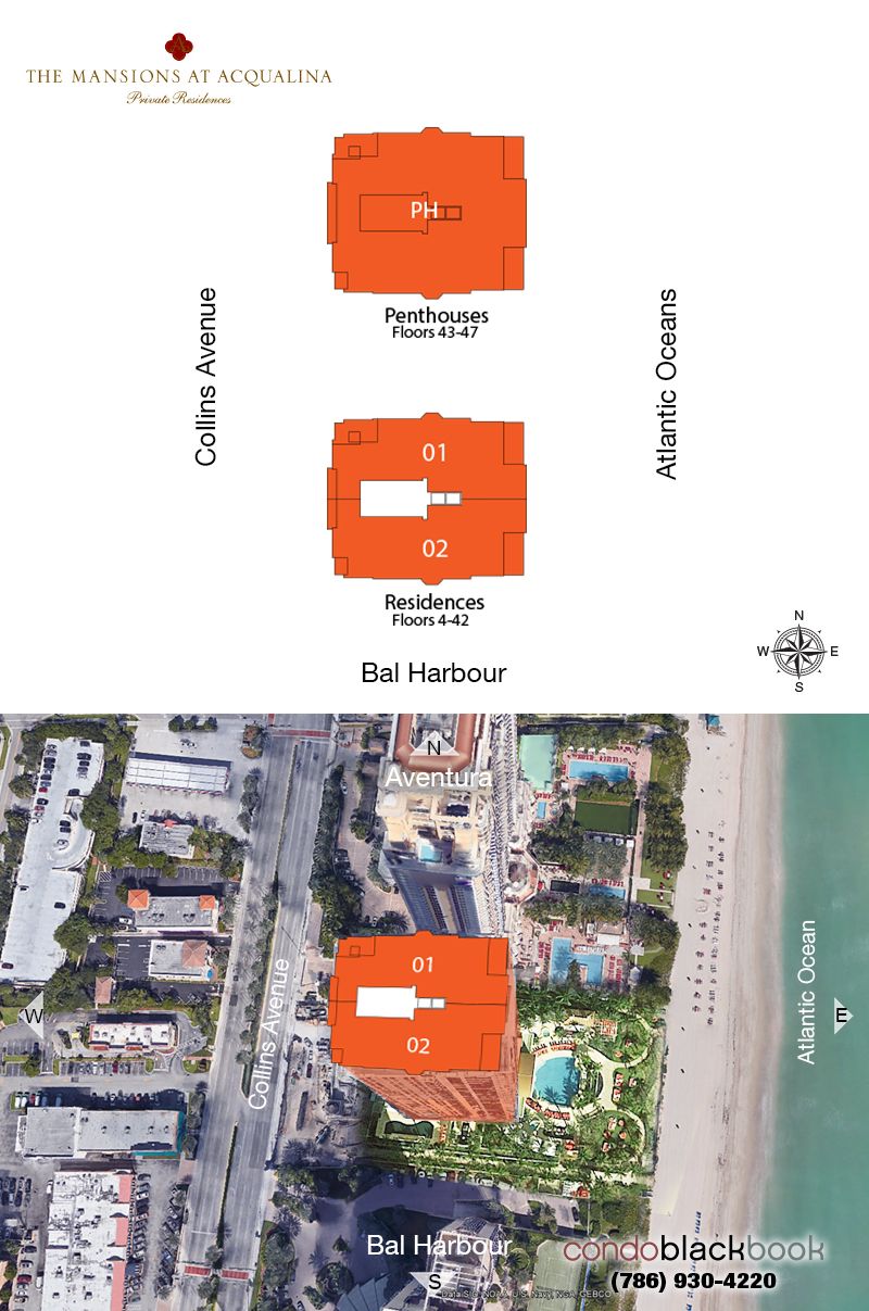 The Mansions at Acqualina Floor Plans