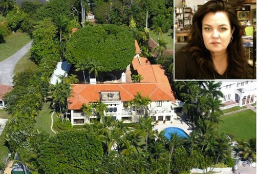 $2 Million Price Drop in Rosie O'Donnell's Star Island, Miami Mansion (PHOTOS)