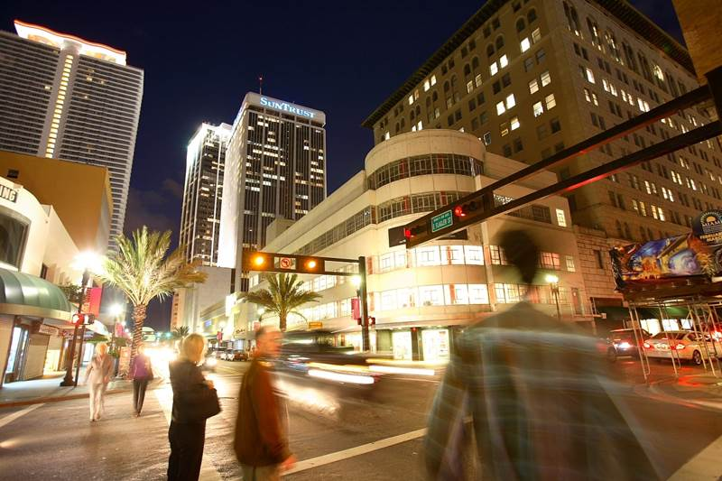 Downtown Miami is becoming more pedestrian friendly