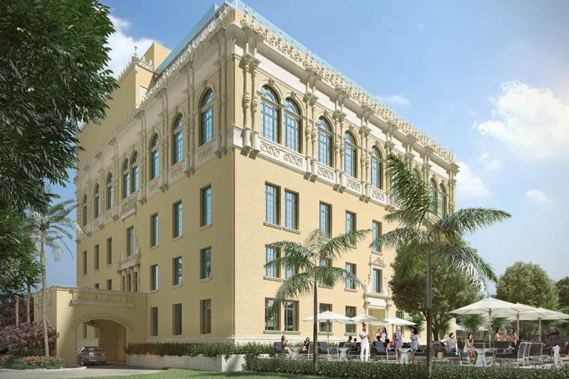 The Miami Women's Club - Rendering of new building