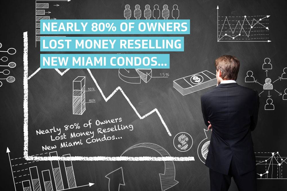 Nearly 80% of Owners Lost Money Reselling New Miami Condos