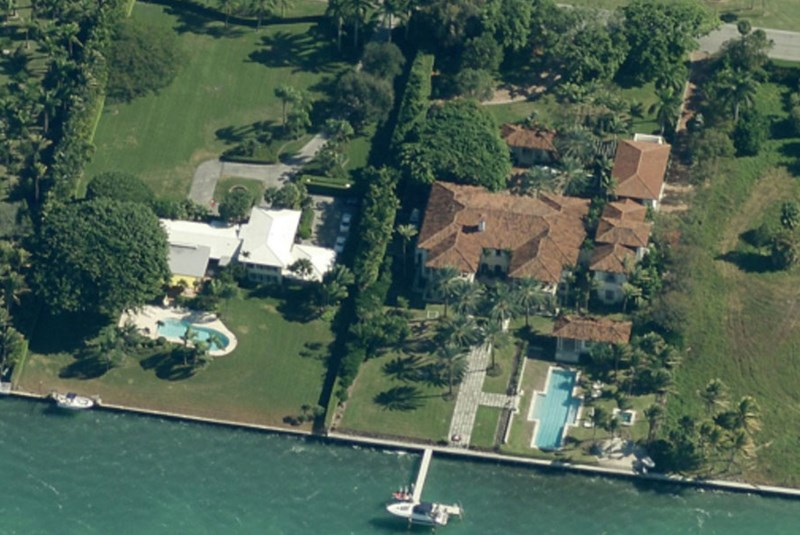 Julio Iglesias' $15.2 Million Island Creek Mansion
