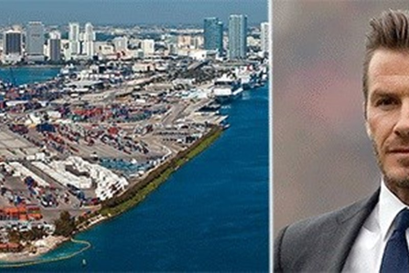David Beckham Could Build MLS Stadium at PortMiami