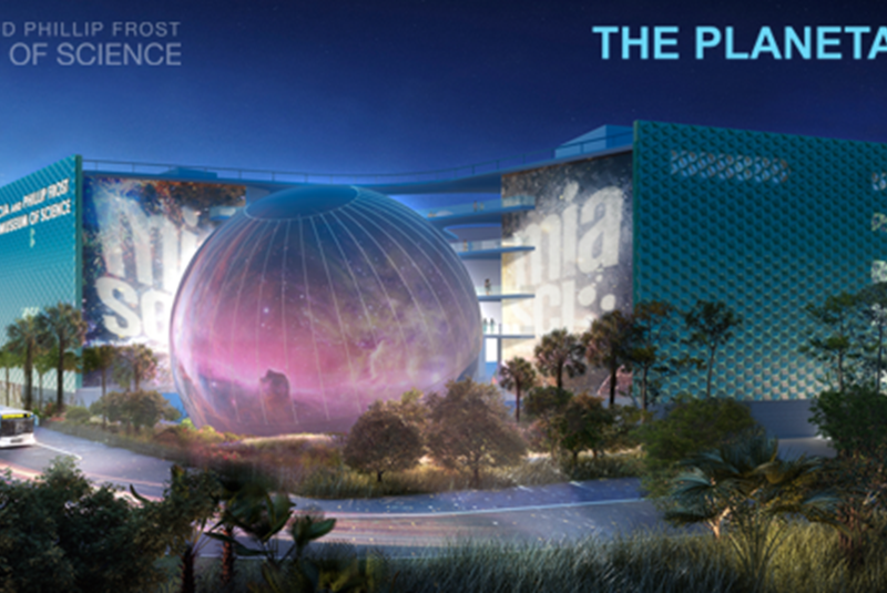 Imagine Driving By a Giant Planet in Downtown Miami (1)