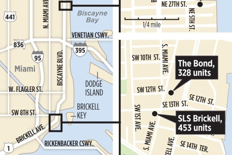 Miami developers launch three condo projects in one day (1)