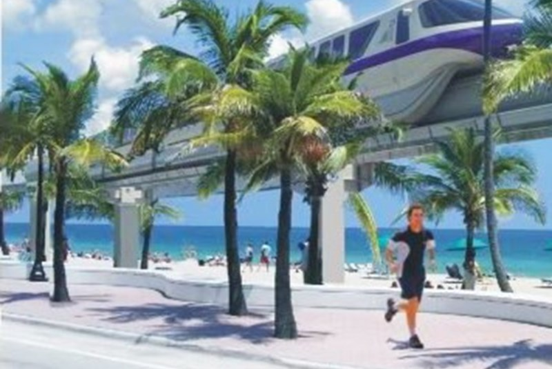 Discussions regarding a potential light rail system in Miami are underway once again