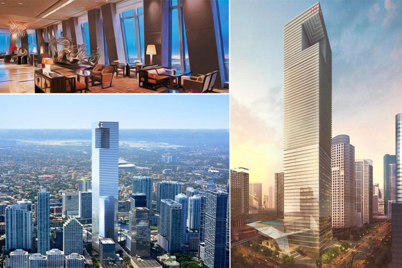 One Brickell City Centre Topped with 80th Floor Lounge