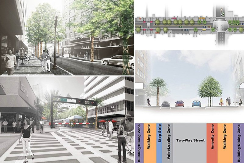 Flagler Street's Dynamic Update in Downtown Miami