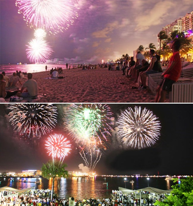 The Top Ten Fourth of July Fireworks Destinations in Miami