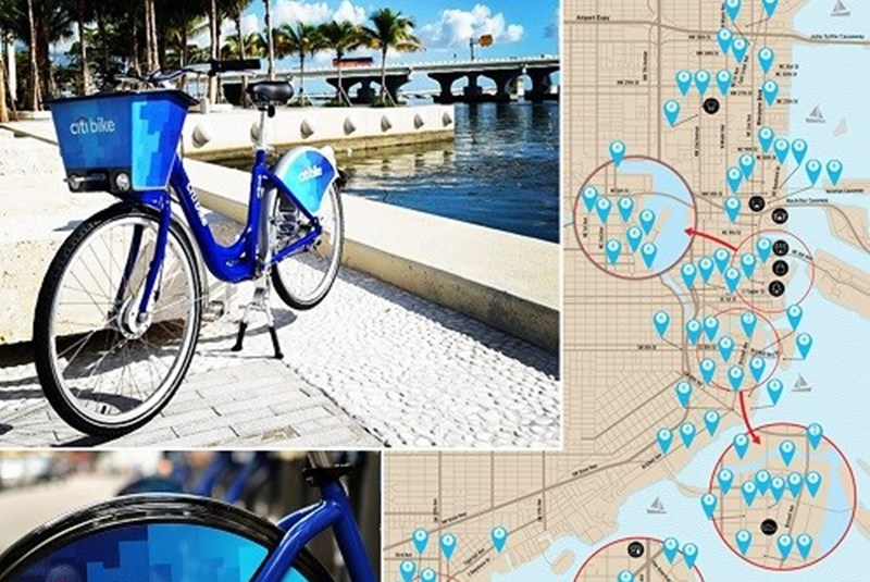 New Bike Sharing Program Expands to the Miami Area