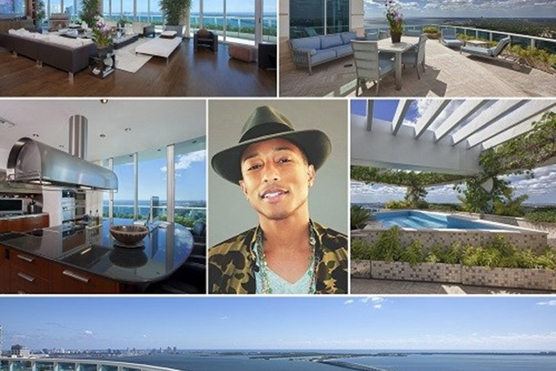 Pharrell Williams Takes His Brickell Penthouse off the Market