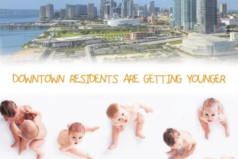 Residents of Downtown Miami Are Getting Younger