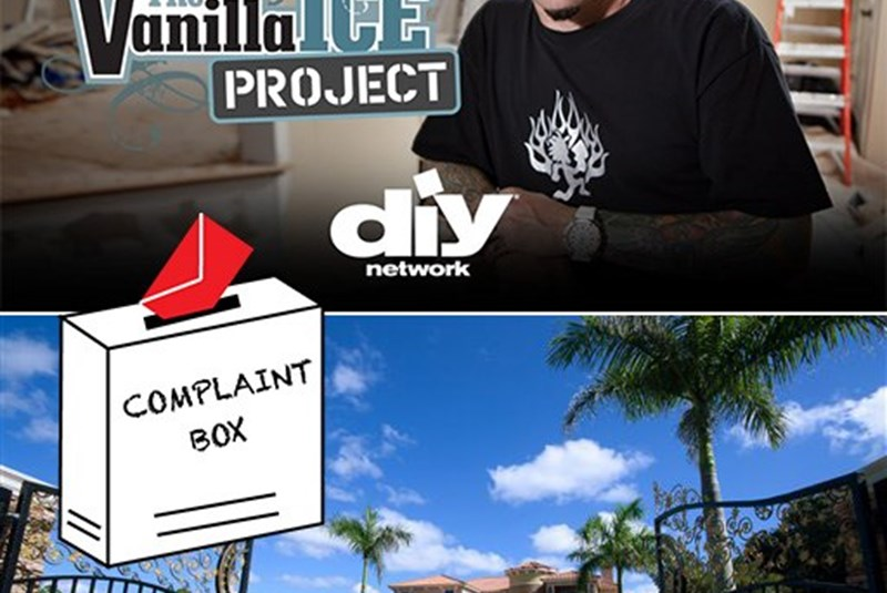 Neighbors Disapprove of Vanilla Ice's Property Flip Methods