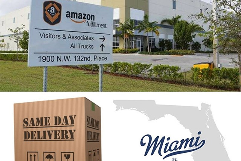 Amazon.com Is Bringing a New Distribution Center to Doral
