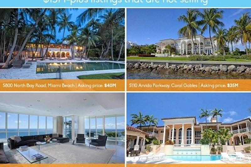 The Top Ten Luxury Listings that Just Won't Sell