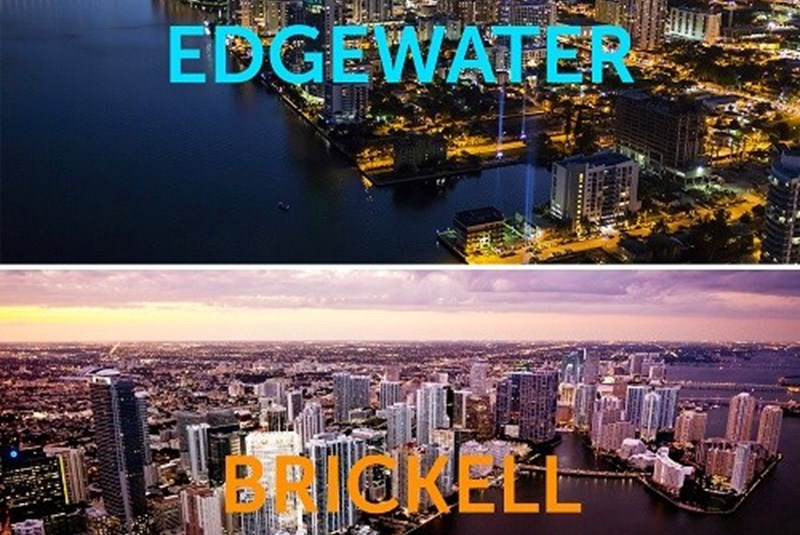 Brickell and Edgewater Are the Fastest Growing Neighborhoods