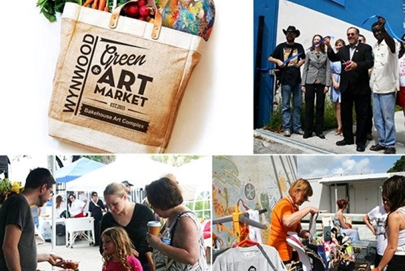 Wynwood Green & Art Market Launched
