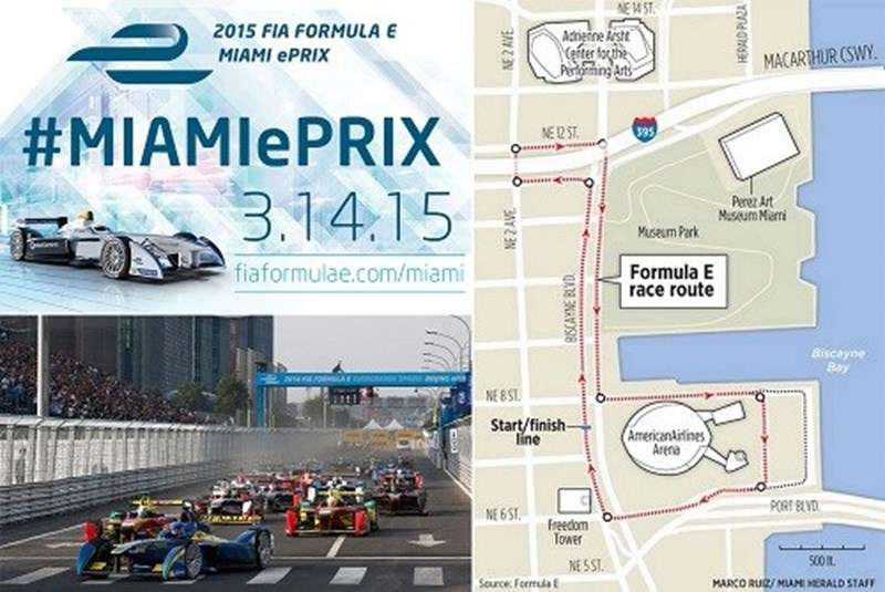 Formula E Race Is Coming to Miami this Weekend for International Circuit