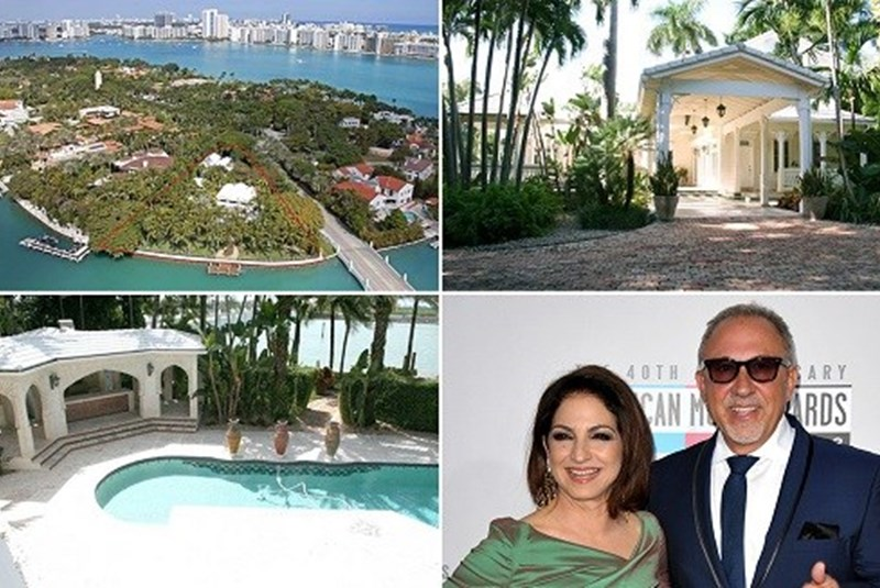 Gloria and Emilio Estefan Have Listed Their Mansion for $40 Million