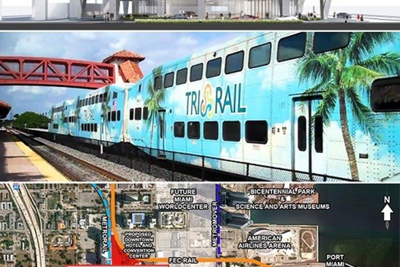 Miami Mayor Might Veto Plans for Tri-Rail's Station in Downtown