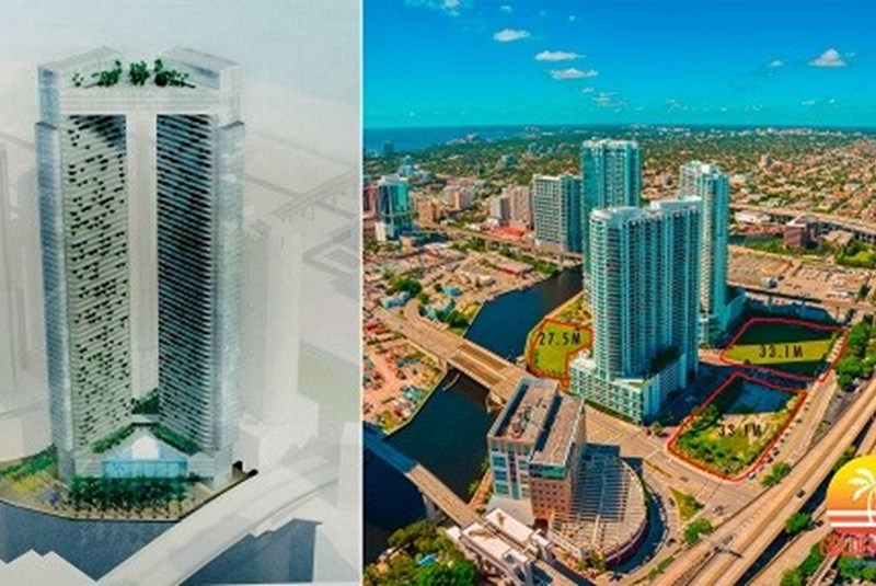 New Twin Tower Planned Near Miami River