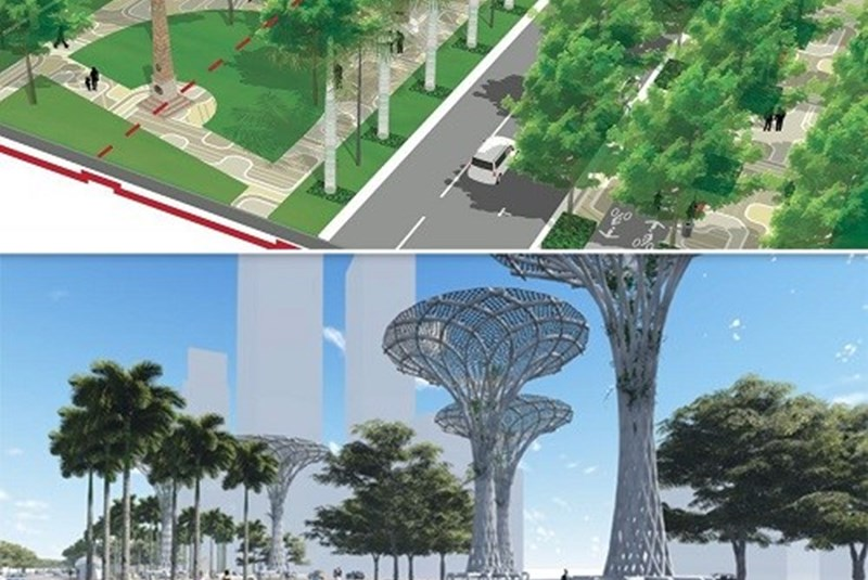 New Plans to Convert Biscayne Boulevard into Scenic Park to the Bay