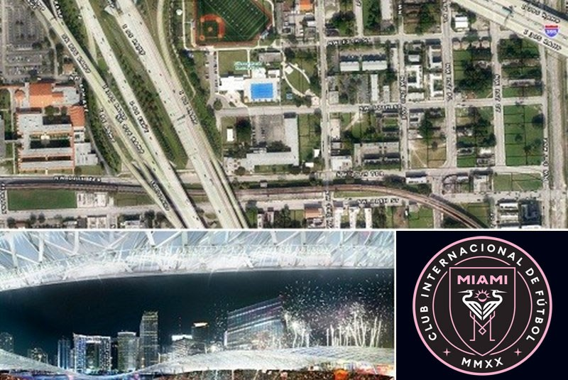 David Beckham Scouts Overtown for Possible Stadium Site