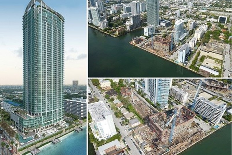 95% of All Units Have Been Sold at the Soon-to-Be-Finished Biscayne Beach Luxury Condo Tower