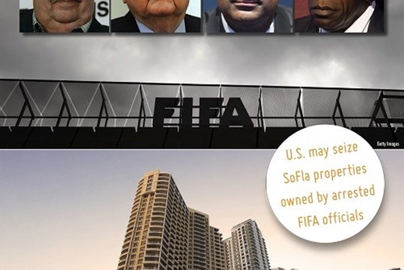 FIFA Officials Arrested, and Their Properties Potentically Seized