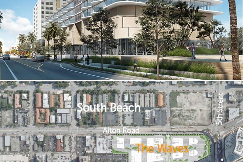 Waves Project In South Beach Getting Bigger