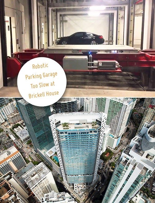 Automatic Robotic Parking Garage System Slower than Imagined, and Many Residents Are Angry