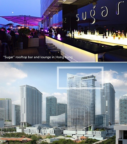 "New ""Sugar"" Lounge Revealed for Brickell City Centre's EAST Hotel"