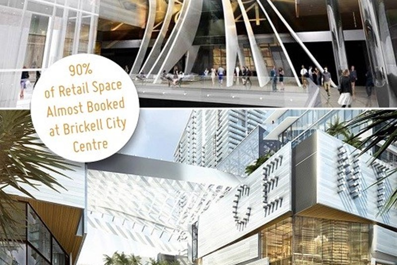 Brickell City Centre Almost Booked 90% of Retail Space Already