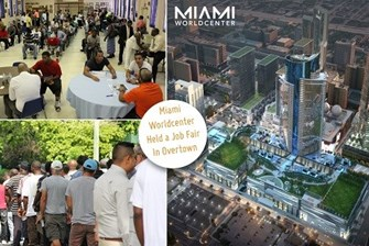 The Miami Worldcenter Held a Job Fair for Hundreds of Residents in Overtown