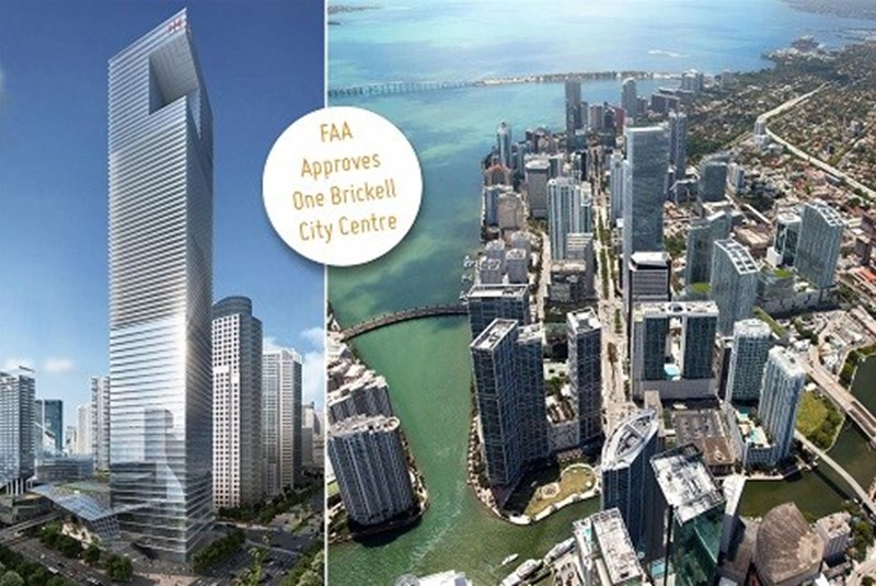 FAA Says One Brickell City Centre's 1,000-ft High Building Poses No Air Traffic Threats