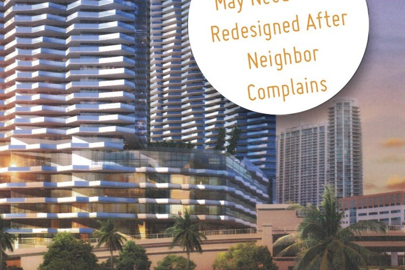 Intensity Complaints From Neighbors of One Brickell. Will It Call For Redesign?