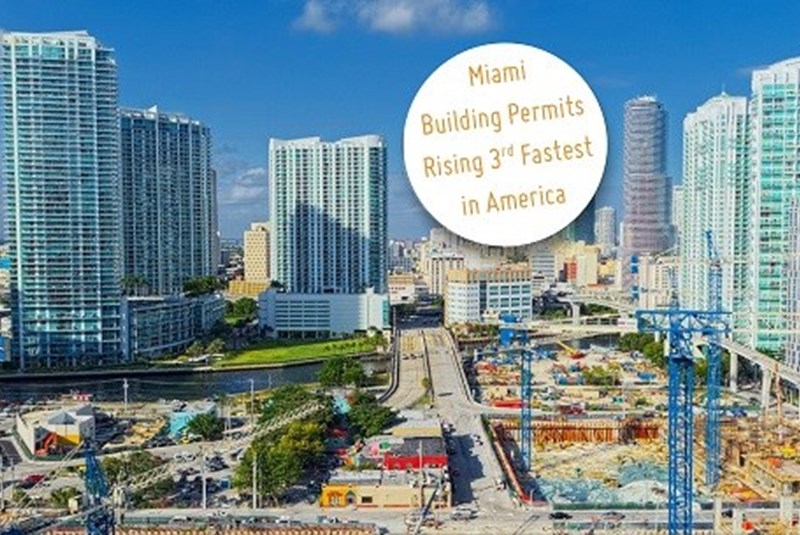 Miami One Of Top Three Cities For Residential Building Permits
