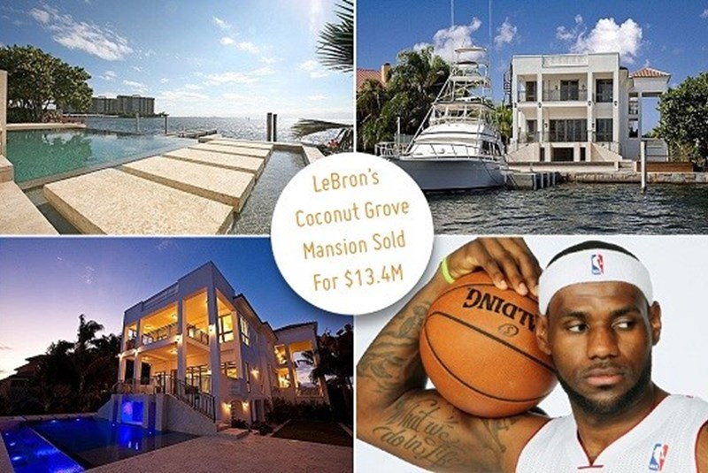 LeBron James' Mansion Sells to Mayfair's Owners for $13.4 Million