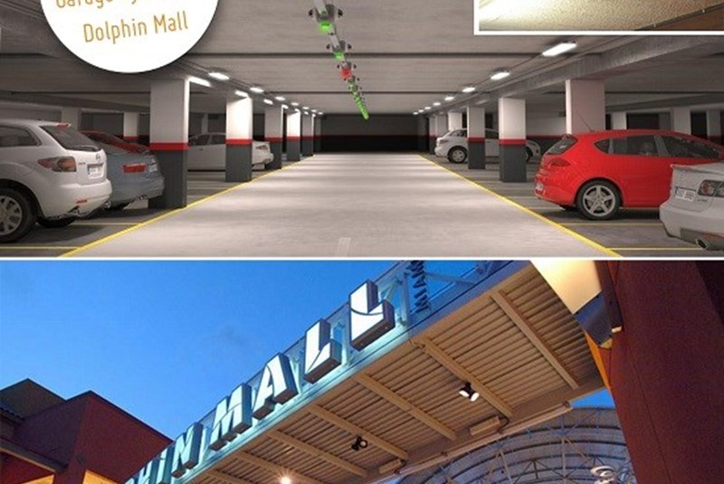 New Parking Garagat Dolphin Mall Will Make Parking Easy