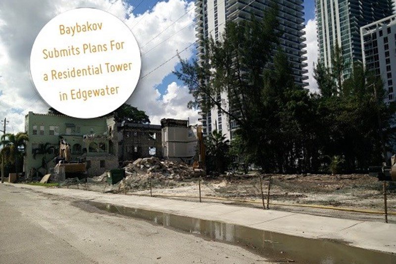 Baybakov Submits Plans for 646-foot Residential Tower in Edgewater