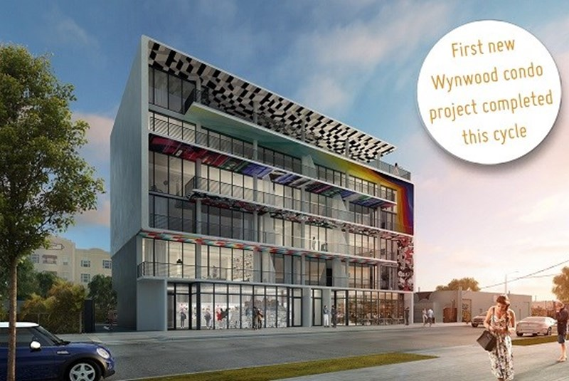 Wynwood Celebrates this Cycle's First New Condo Project Completion